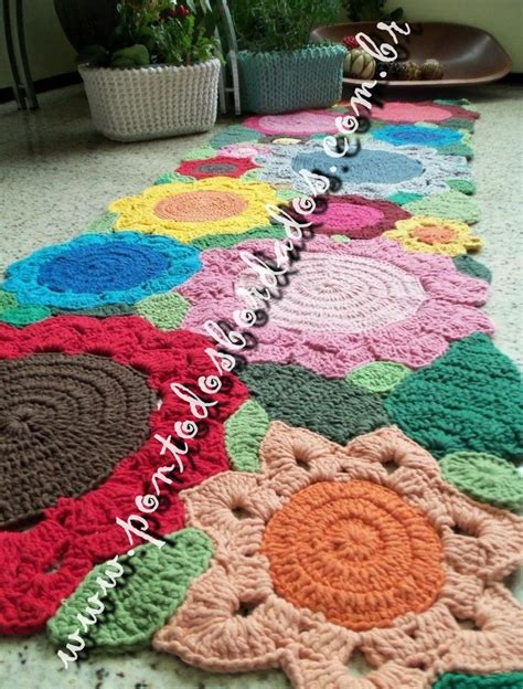 tapete croche on pinterest throw rugs crochet rugs and tapete de 1000 images about tapete de croche on pinterest