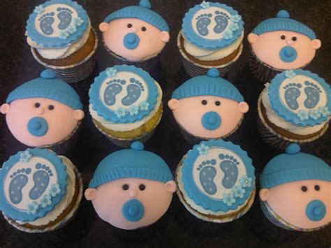 Boy Baby Shower Cup Cakes by Welcome To Just Iced Baby Shower Cupcakes Boy