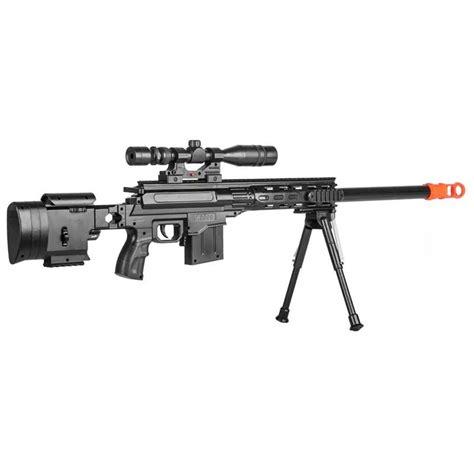 Bipod Jepit Senapan Airsoft Tactical tactical sniper airsoft rifle gun with laser scope bipod
