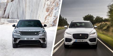 range rover velar vs sport range rover velar vs jaguar f pace suv comparison carwow