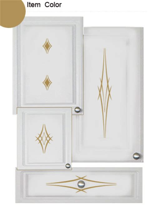 kitchen cabinet decals barbs theme contemporary