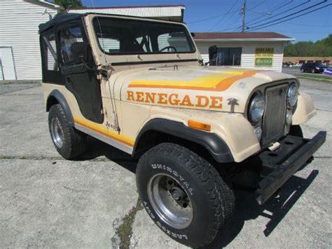 Cj Jeeps For Sale In Ga Used Jeep Cj 5 For Sale Carsforsale
