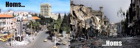 syria before and after syrian rebels assad forces reach ceasefire in homs