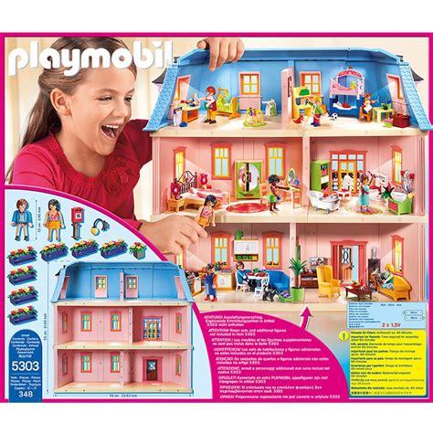 playmobil doll house maison traditionnelle playmobil dollhouse 5303 la grande