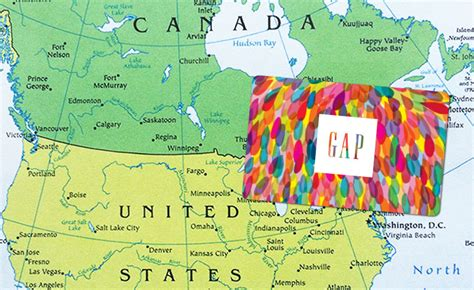 canadian map gifts u s gift cards usable in canada other countries gcg