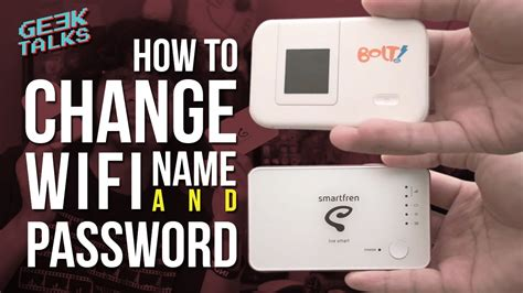 Wifi Bolt Smartfren how to change wifi name password cara ganti nama