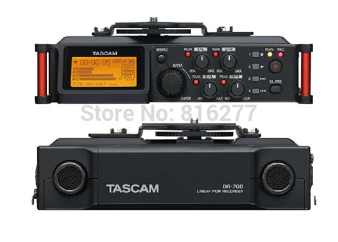 Tascam Dr 70d Professional Field Recorder tascam dr 70d professional 4 channel recorder for slr audio micro recording four channel
