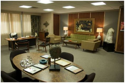 Mad Decorating Style by Amc S Mad Sterling Cooper S Office Paperblog