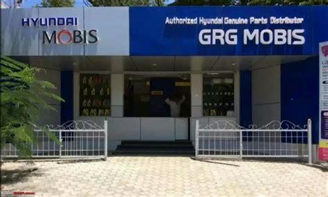 hyundai mobis parts hyundai begins the counter sale of spare parts