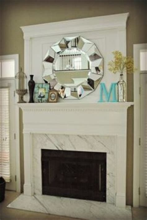 Decorating Fireplace Mantels With Mirrors by How To Decorate A Fireplace Mantel With A Mirror 5 Ways