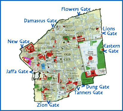 map of city of jerusalem map of city of jerusalem free printable maps