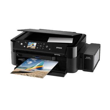 Printer Epson Hitam Putih jual epson printer multifungsi l850 hitam print scan