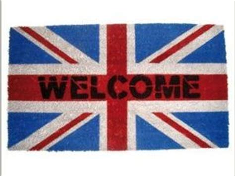 paillasson welcome drapeau par deco de