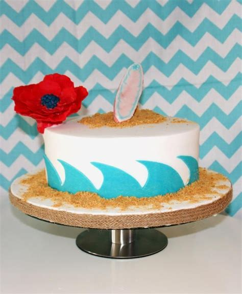 Surf Cake Decorations by Best 20 Surfing Cakes Ideas On