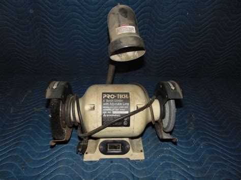 pro tech bench grinder grc early december consingments in cold spring minnesota by grc online auctions