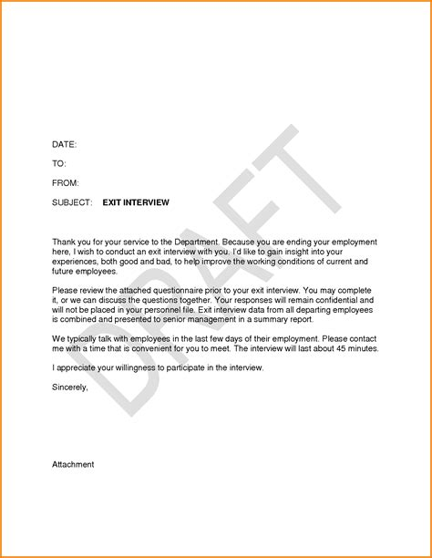 exit letter template 8 exit letter sle employee financial statement form