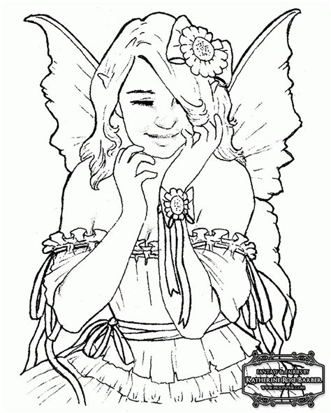 wood fairy coloring page woodland fairy coloring pages coloring home