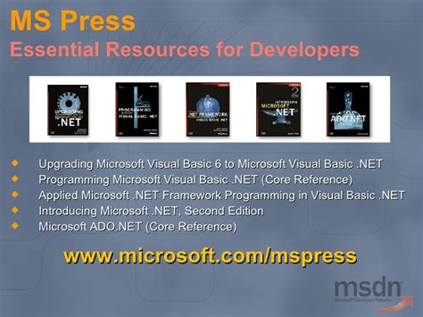 Moving To Microsoft Visual Basic Net