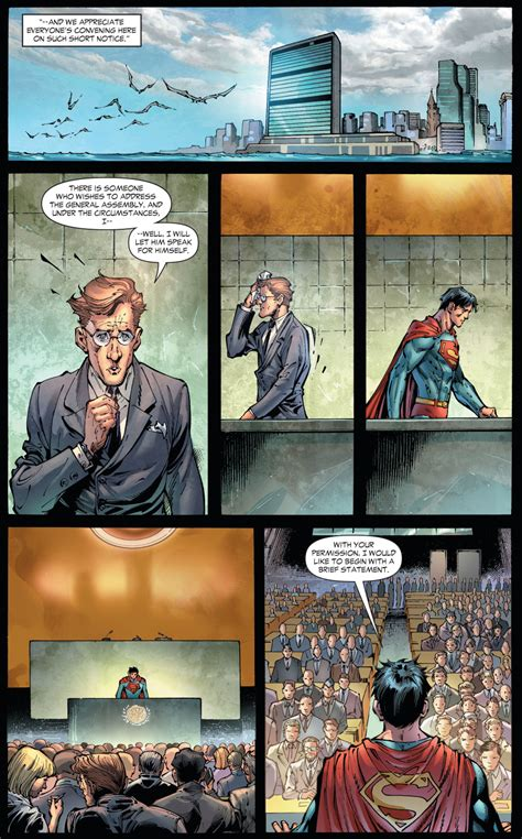 Superman Earth One Hc Vol 02 Dc Comics superman addresses the united nations earth 1 comicnewbies