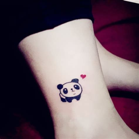 small panda tattoo 13 panda tattoos ideas