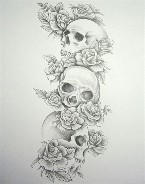 tattoos designs of skulls and roses best 25 skull sleeve tattoos ideas on skull