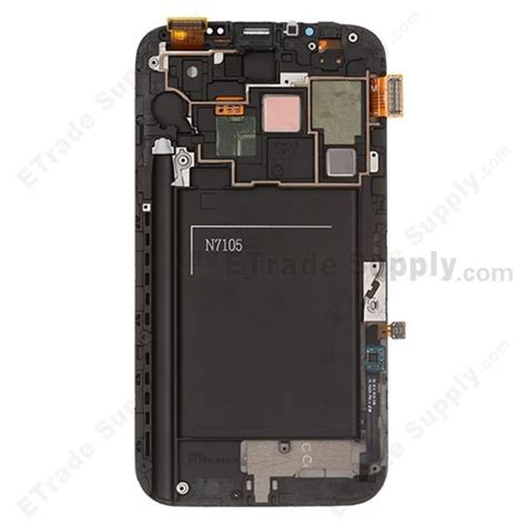 Lcd Galaxy Note 2 samsung galaxy note ii sgh t889 lcd screen and digitizer assembly with frame etrade supply