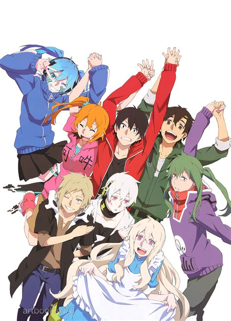 mekakucity actors mekakucity actors in pash magazine by etby98 on deviantart