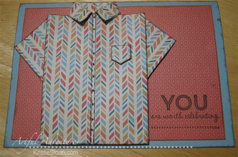 folded shirt card template folded shirt card images