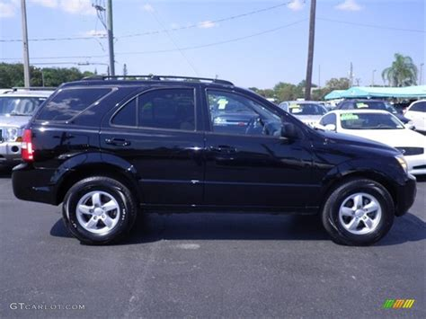 Kia Sorento 2009 by Black 2009 Kia Sorento Lx Exterior Photo 62901742
