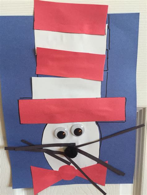 cat in the hat crafts for 42 best images about winter on winter craft