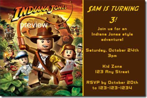 indiana jones birthday invitations indiana jones archives