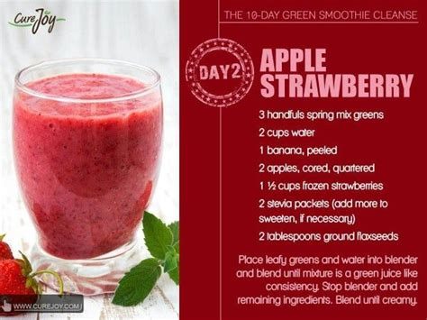 2 Day Green Smoothie Detox by 64 Best Jj Smith Approved Snacks Images On