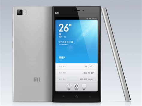 Tablet Xiaomi Mi3 xiaomi mi 3 announced at an affordable 327 features tegra 4 or snapdragon 800 cpu depending on