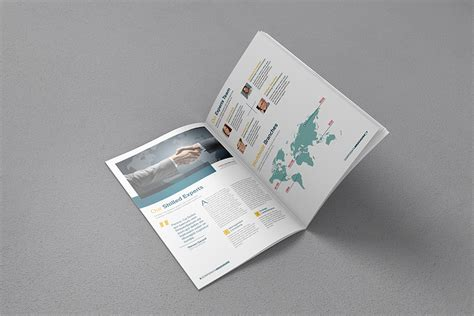 free mock up a4 brochure mockup mockupworld