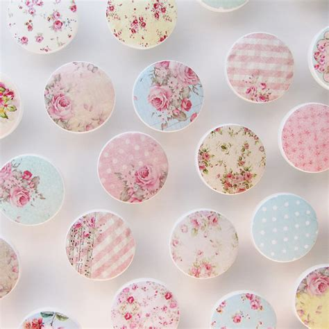 shabby drawer knobs assortment cottage chic by leilasloft