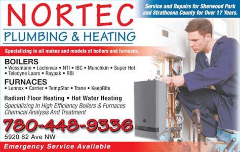 Ads Plumbing And Heating by Nortec Plumbing Heating Edmonton Ab 5920 82 Ave Nw