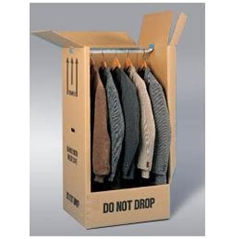 cardboard wardrobe boxes large strong wardrobe removal garment box cardboard pack
