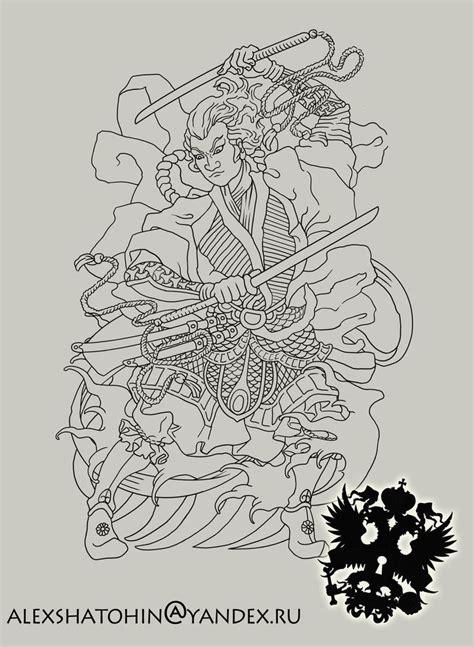 traditional samurai tattoo designs 17 best images about geisha samurai on samurai