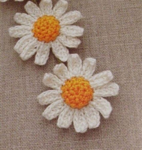 pattern crochet daisy daisy flower to crochet crochet kingdom