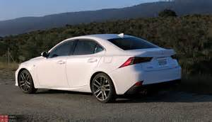 Lexus Is 350 0 60 2015 Lexus Is 350 F Sport Review With