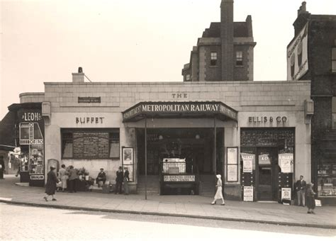 Swiss Cottage Underground Station by An Image From A Last Line Story