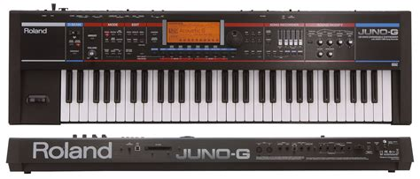 roland juno g 61 key synthesiser keyboard