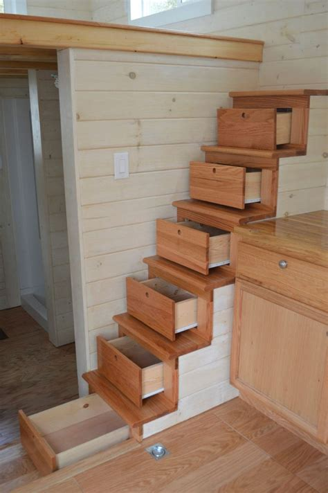 Stair Drawers Storage by Best 25 Tiny House Stairs Ideas On Tiny House