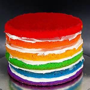 kuchen farbe bourbonnatrix bakes rainbow cake
