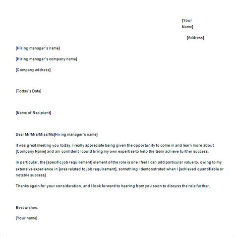 thank you letter after in uk thank you email after 17 free word excel