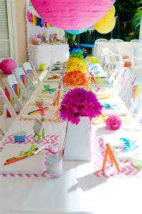 Rainbow Party Arts and Crafts