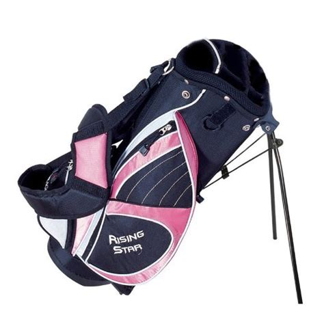 Bag Golf Fg 004 paragon golf rising jr golf bag with stand pink 25 quot sporting goods outdoor recreation