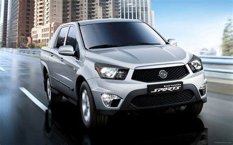 ssangyong korando sports ssangyong korando sports 2013 widescreen car