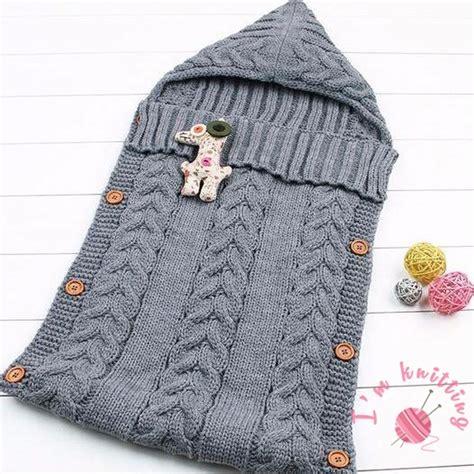 knitted baby sleeping bag i m knitting knitting patterns