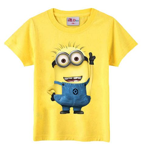 shirts for toddlers children s clothing minions t shirt baby
